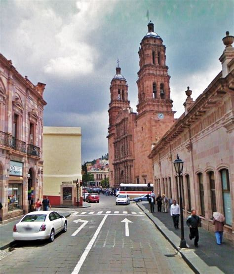 Native americans had already known about the area's rich deposits of silver and other minerals. Zacatecas, avenida Hidalgo, catedral, hoy | Avenida Hidaldgo… | Flickr