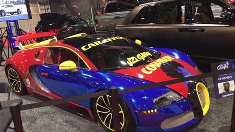 Lil uzi vert broke the bank celebrating 25 years of life. Bugatti Veyron Grand Sport với lớp áo sặc sỡ của Rapper Lil Uzi Vert   carpassion.vn