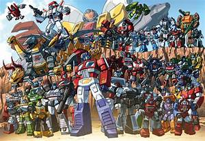 Autobots 85 groupshot by Dan-the-artguy on DeviantArt