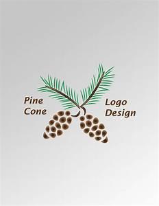 Pine Cone Logo – AYA Templates