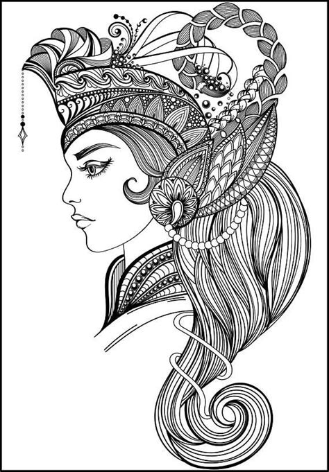 Beautiful adult coloring page   Printable adult coloring