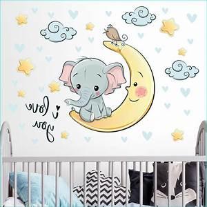 Wann Babyzimmer Einrichten : wandtattoo babyzimmer mond babyzimmer house und dekor ~ A.2002-acura-tl-radio.info Haus und Dekorationen