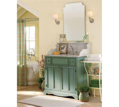 Bathroom Pottery Barn Vanity For Bathroom Cabinet Design