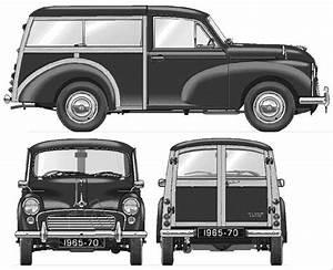 1969 Morris Minor Traveller Van Blueprints Free