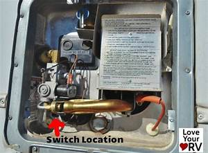 Faulty Electrical Switch On A Suburban Sw6de Hot Water Heater