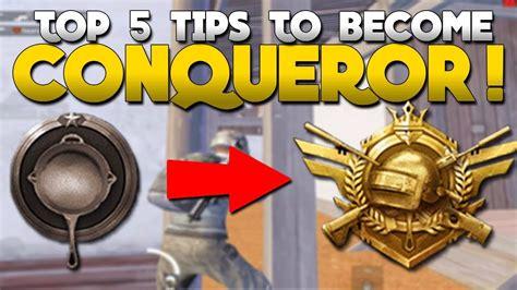 top  tips    conqueror pubg mobile youtube