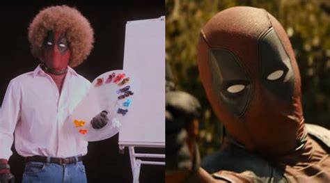 Ryan Reynolds' Deadpool Spoofs Bob Ross In The Deadpool 2