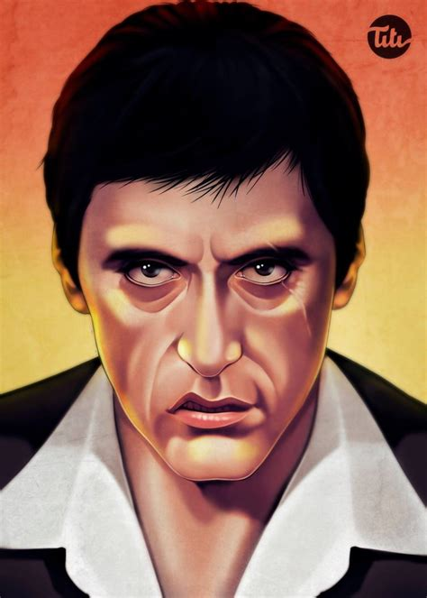 Tony Montana Scarface by titiartwork on DeviantArt