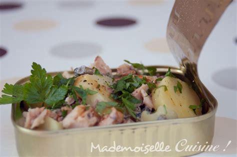 sardine cuisine salade pomme de terre sardine recette de cuisine
