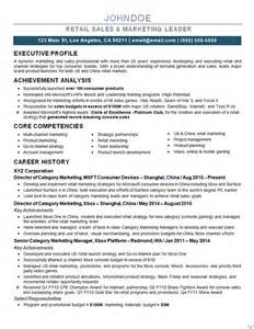 best resume for marketing director marketing director resume exle