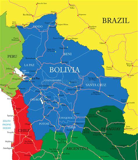 Carte De Image Libre by Carte De La Bolivie Photographie Stock Libre De Droits