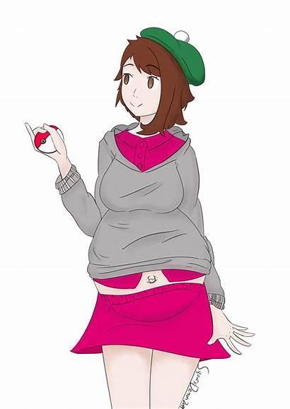 Pokemon Shield Sword Trainer Female Preggo