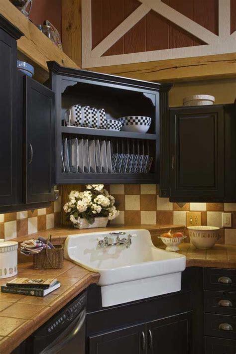 corner sink kitchen ideas pinterest   corner cabinets  cabin