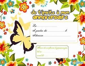 Invitation anniversaire assortiment de fleurs 123 cartes for Chambre bébé design avec carte invitation anniversaire fleur