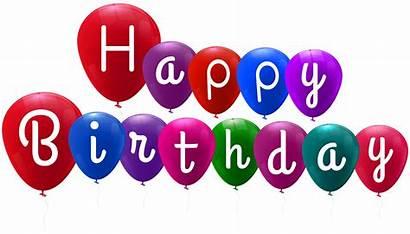 Birthday Balloons Happy Clipart Transparent Clip Heart
