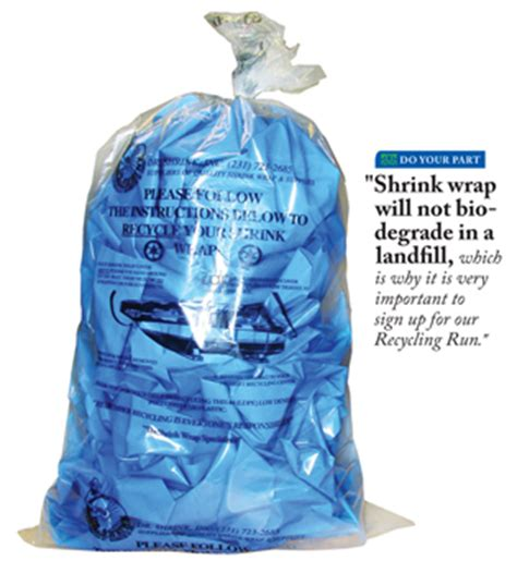 Boat Shrink Wrap Wisconsin by Dr Shrink Offers Recycling Run To Wisconsin And Illinois