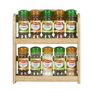 Apollo Spice Rack by Apollo Spice Rack With 10 Filled Schwartz Spice And Herb