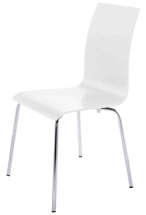 chaises blanches design chaises salle a manger blanches design chaise idées de