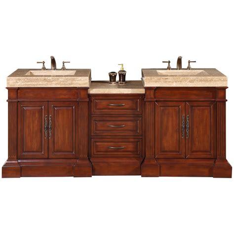 silkroad exclusive stanton  double bathroom vanity set