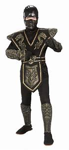 Boys Kids Warrior Ninja Samurai Mortal Kombat Scorpion ...