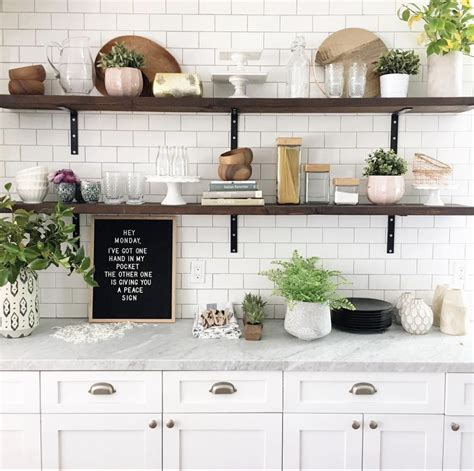 Kitchen Open Shelves Images by Height Of Floating Kitchen Shelves Bigger Than The Three