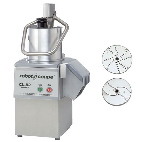 robot coupe cl52 robot coupe cl52 1 speed cutter mixer food processor w side discharge 120v
