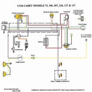 Cub Cadet Lt1042 Parts Diagram