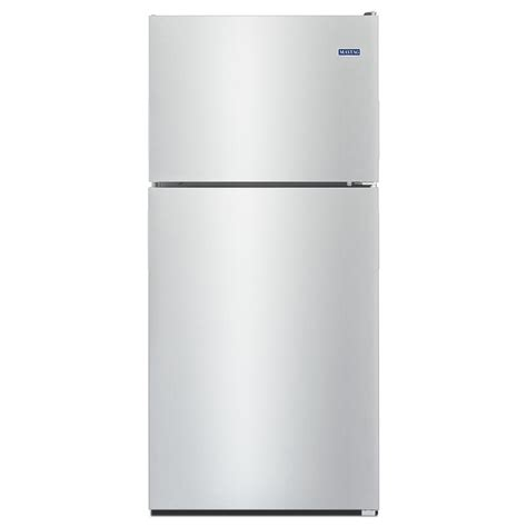 Maytag Mrt118fffm Stainless Steel Top Freezer Refrigerator