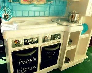burlap buttons ava39s new kitchen With kitchen colors with white cabinets with what do the stickers on fruit mean