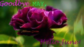 Goodbye May Hello June Month Of