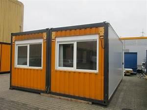 20 Fuß Container Gebraucht Kaufen : 20 fuss duo b rocontaineranlage gebraucht aufgearbeitet ~ Sanjose-hotels-ca.com Haus und Dekorationen