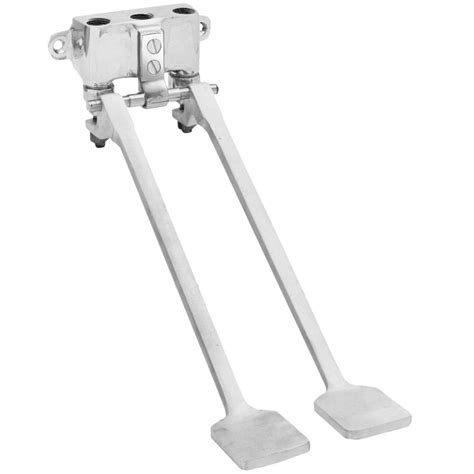 fisher  ss dual wall foot valve
