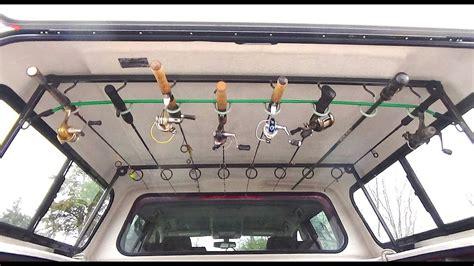 Boat Canopy Rod Holders by Truck Topper Fishing Rod Rack Utility Rack Welding