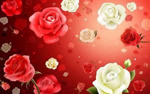 Roses flowers backgrounds Windows 7 Desktop Wallpaper ...