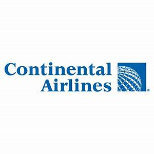 Continental Airlines logo vector free