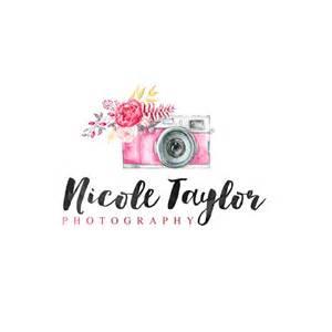 Flower Camera Photography Logos