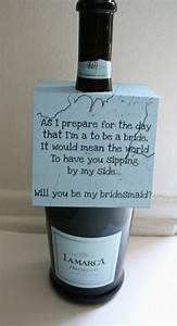 creative ways to ask your bridesmaid to be in your wedding With cute ideas for asking bridesmaids to be in your wedding