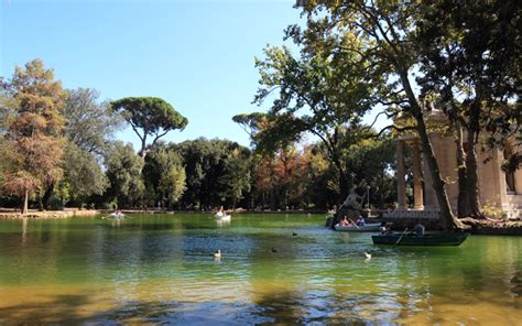 villa borghese gardens the green side of rome five gardens not to miss italy