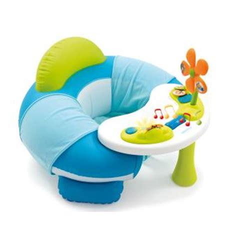 siege smoby cotoons siège gonflable smoby cotoons cosy seat bleu jeu d 39 éveil