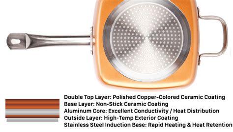 pc square copper cookware pan set pulsetv