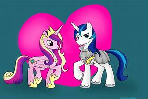 Princess Cadence and Shining Armor by BlueEyesNeko on ...