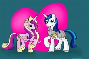Princess Cadence and Shining Armor by BlueEyesNeko on ...