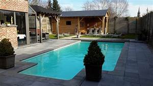 Prive sauna buitenzwembad