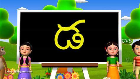 Learn Telugu Alphabet ( Consonants )