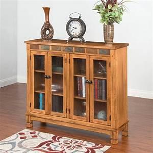 Sunny, Designs, Sedona, 42, In, Bookcase, -, Rustic, Oak