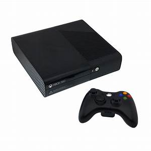 Xbox 360 E 320GB Black Console [Pre-Owned] | The Gamesmen