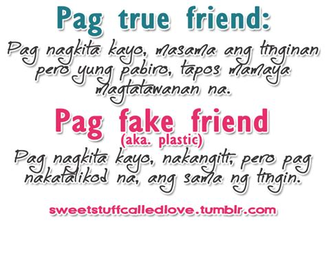 fake friends quotes tumblr tagalog image quotes
