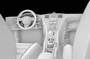 Car, Interior, 3d, Model, In, Cart, 3dexport