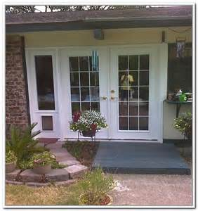 sliding patio doors with pet door modern patio outdoor