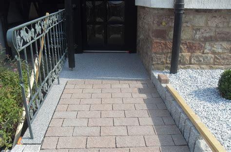 steinteppich treppe außen welsch fussbodentechnik steinteppich